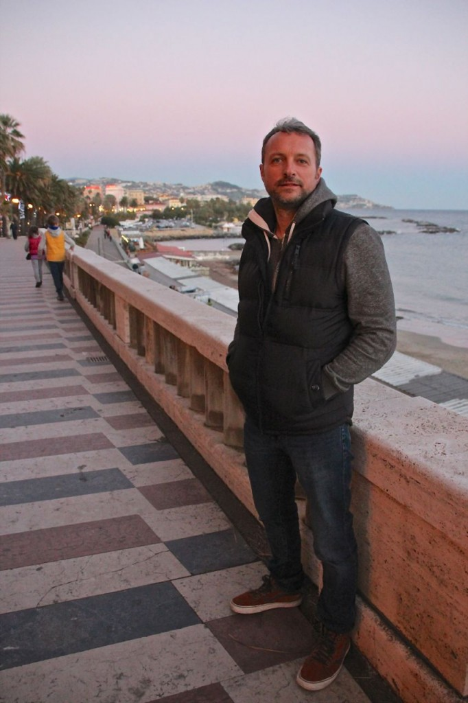 Alfonz Hamori in Sanremo