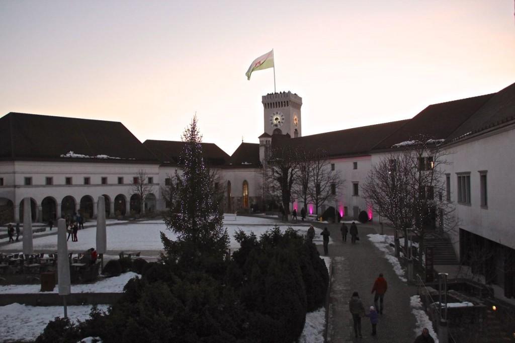 Ljubljana castle views