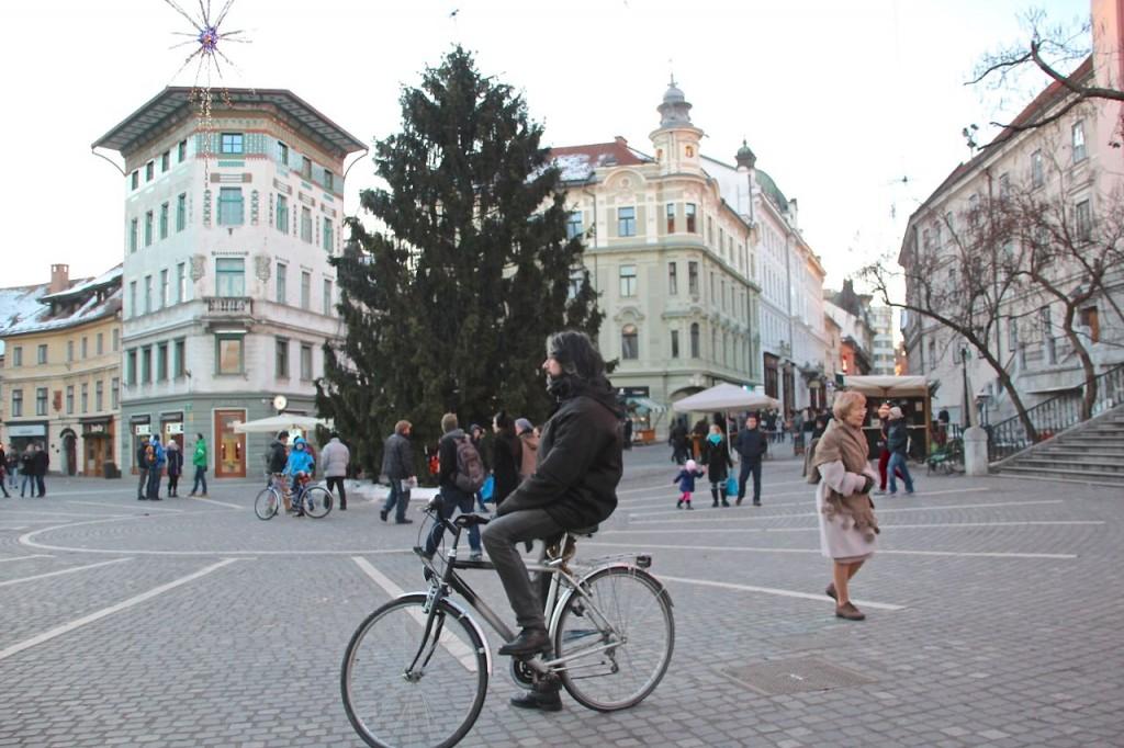 hire a bike in Ljubljana