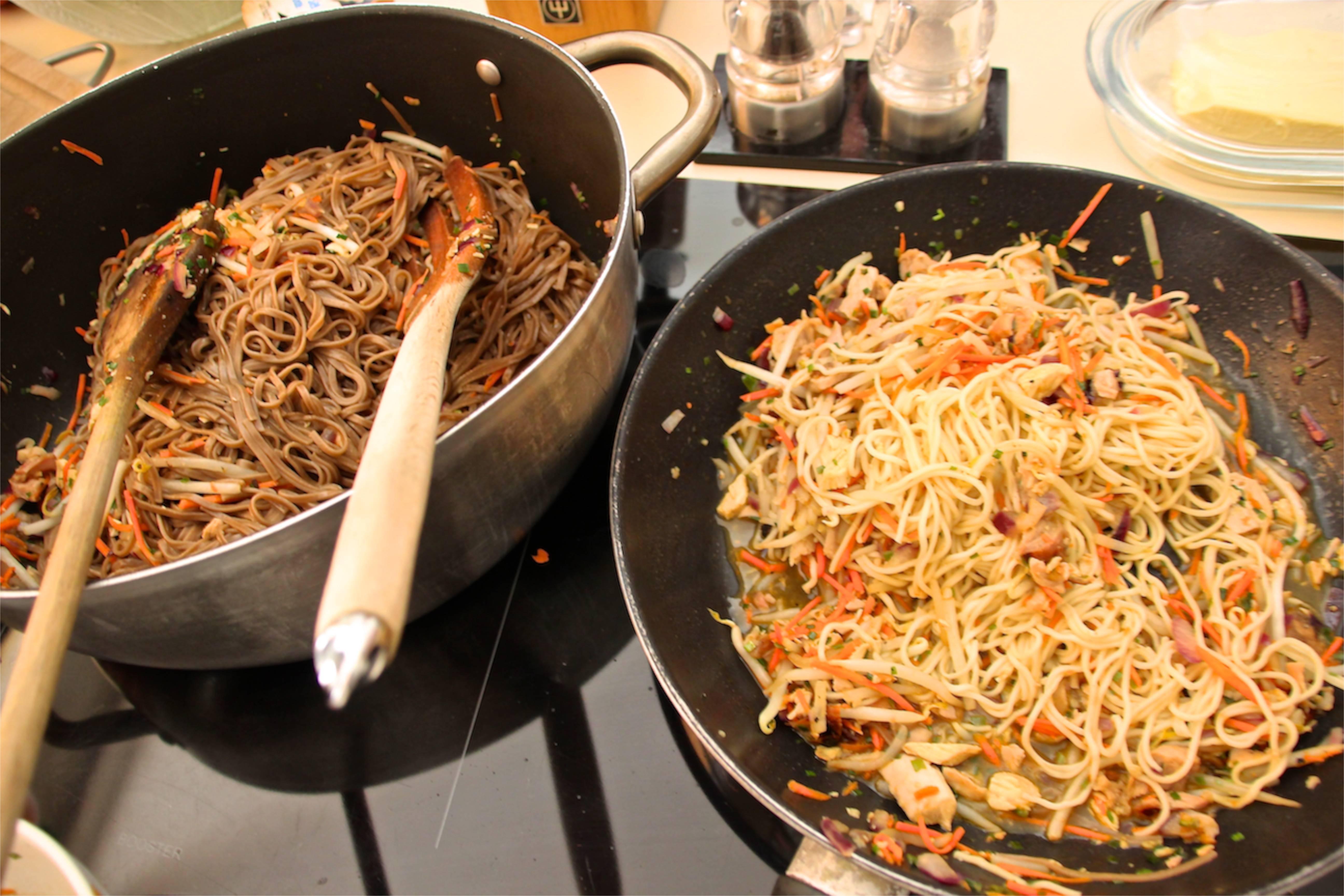 restaurant style chicken chow mein
