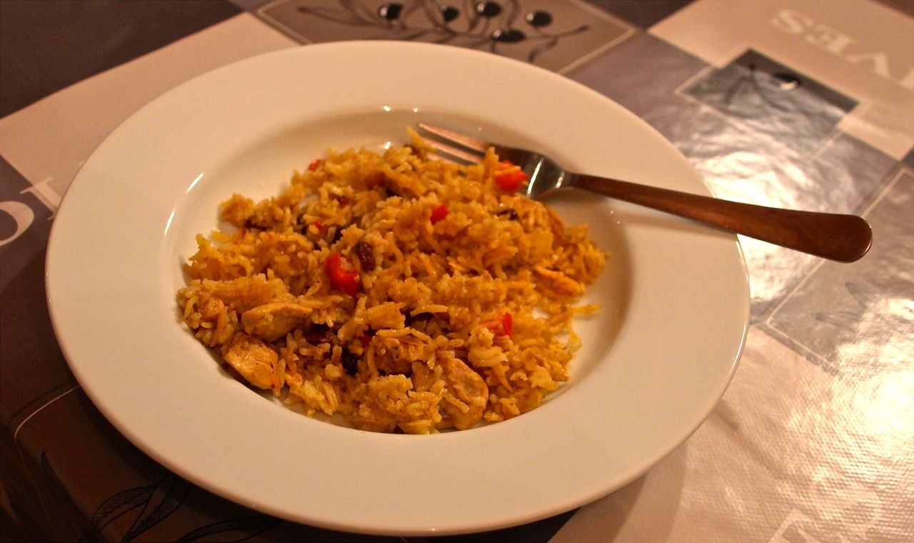persian chicken pilau