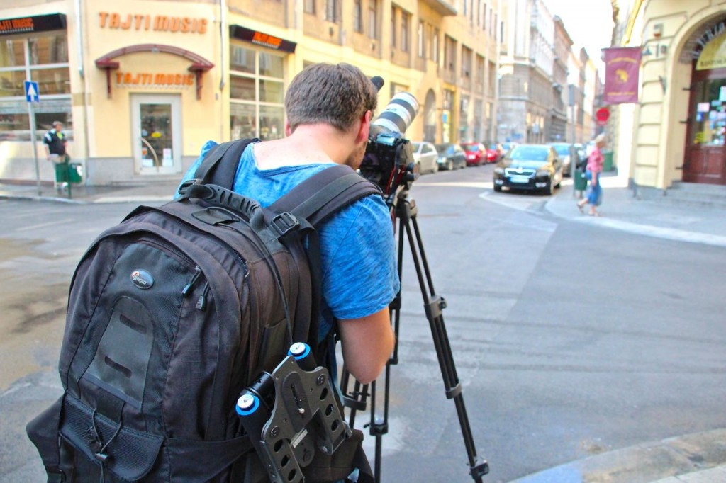 filming in Budapest for TRANSAT