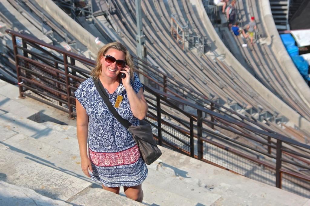 audio tour Arena in Nimes
