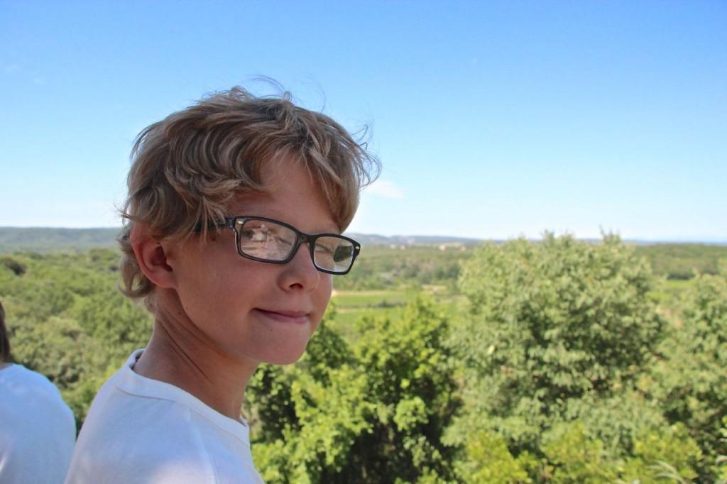 Daniel @ Pont du Gard