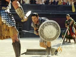 Gladiator Games in Nimes Arena
