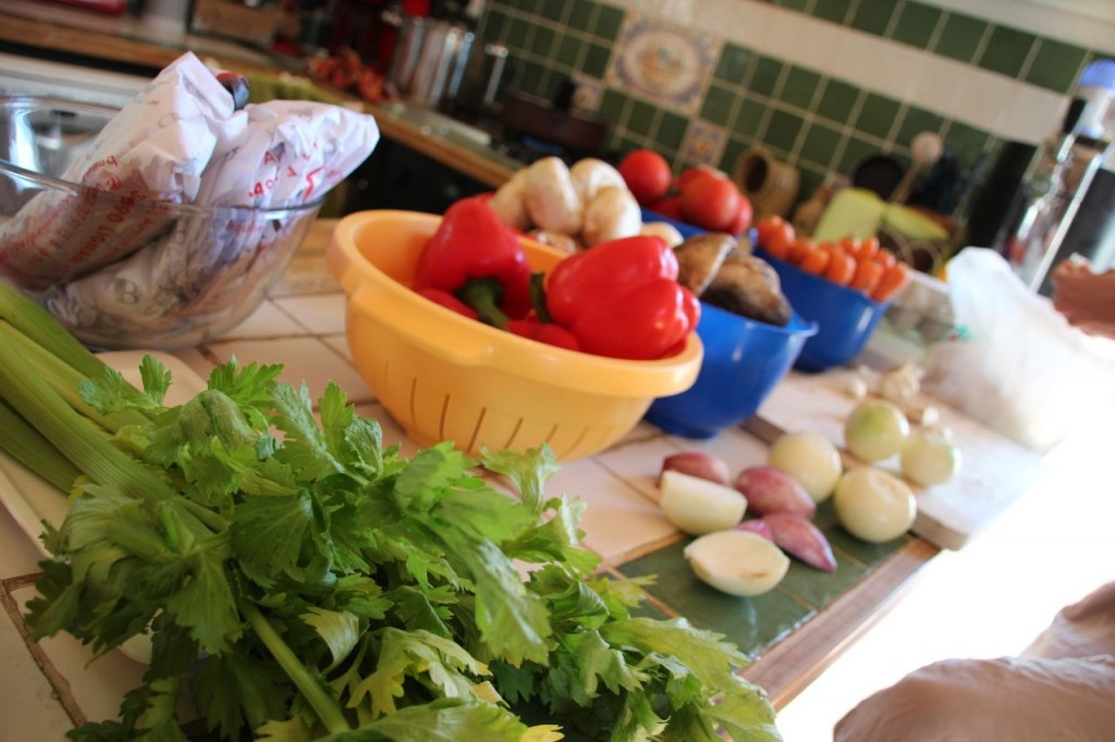 goulash soup veggies
