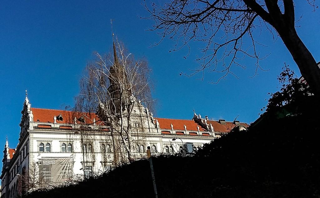 winter in Slovenia Maribor