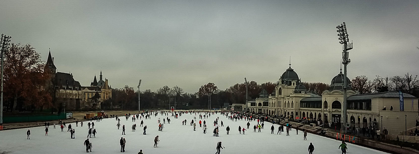 ice skating central park Budapest