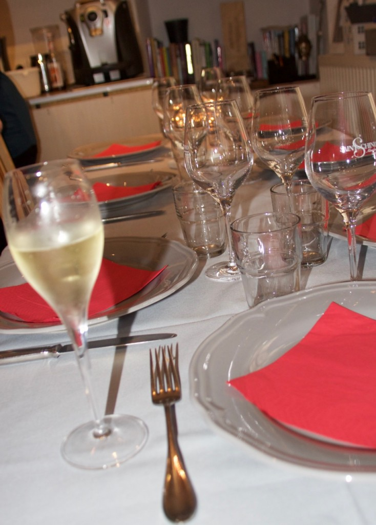 champagne luncheons, France living