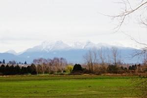Mountains towards langley