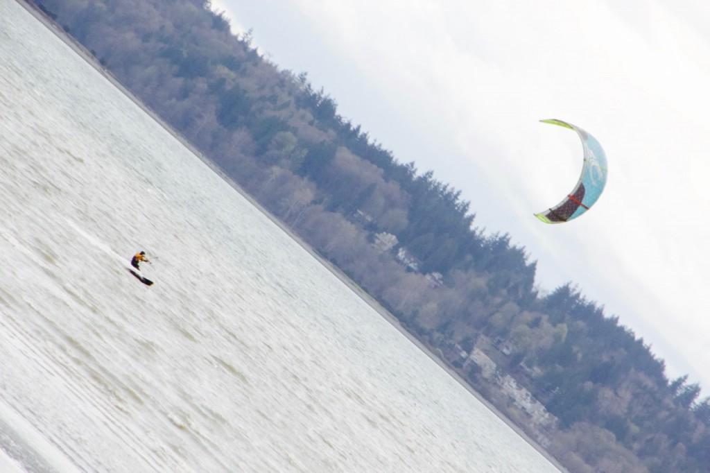 white rock kite surfing
