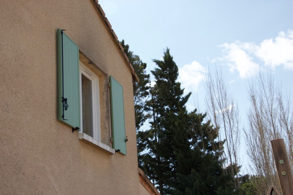 new shutters in southern france