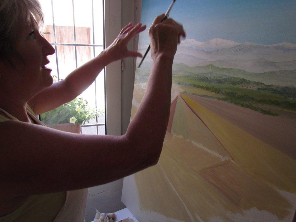 Blakemore artist, teacher, painter