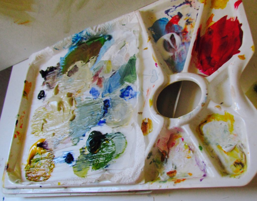 learn how to paint in france