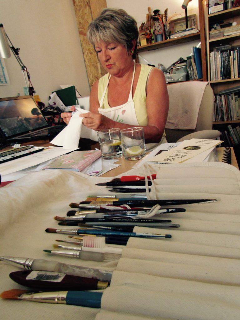 Blakemore's view on art, she explains
