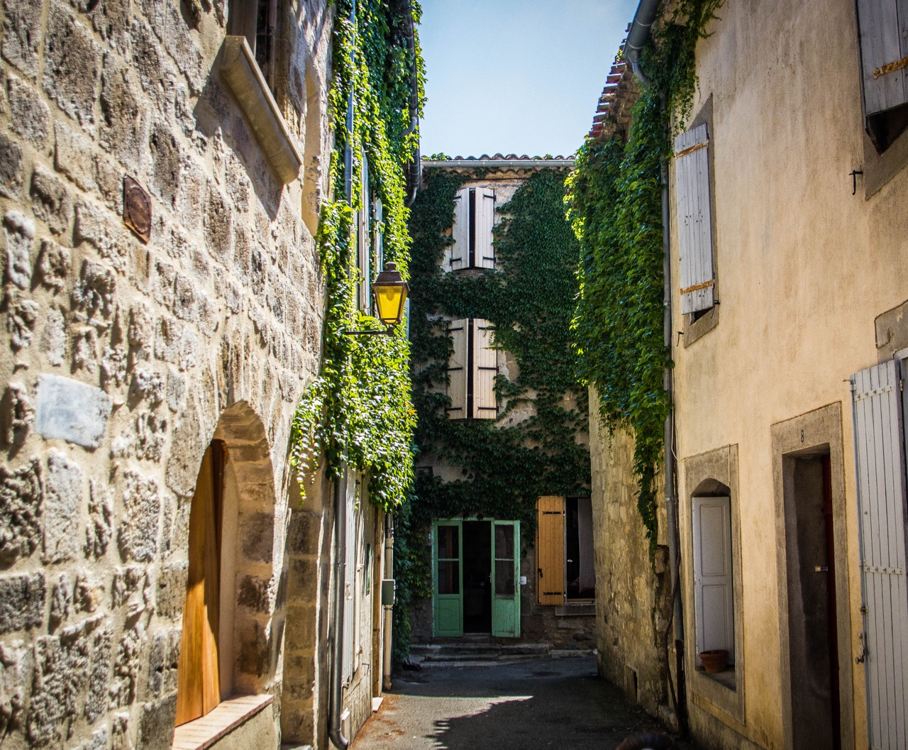 lagrasse 8th century traditional French village